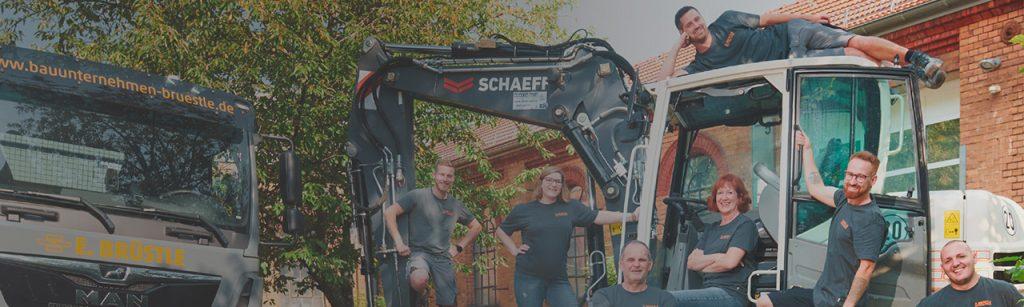 Team – Bauunternehmen Brüstle